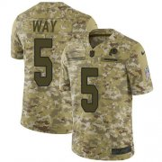 Wholesale Cheap Nike Redskins #5 Tress Way Camo Men's Stitched NFL Limited 2018 Salute To Service Jersey