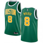 Wholesale Cheap Celtics #8 Kemba Walker Green Basketball Swingman Earned Edition Jersey