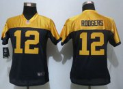 Wholesale Cheap Nike Packers #12 Aaron Rodgers Navy Blue Alternate Women's Stitched NFL New Limited Jersey