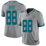 Wholesale Cheap Nike Jaguars #88 Tyler Eifert Silver Men's Stitched NFL Limited Inverted Legend Jersey