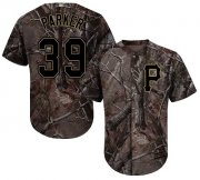 Wholesale Cheap Pirates #39 Dave Parker Camo Realtree Collection Cool Base Stitched Youth MLB Jersey