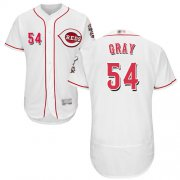 Wholesale Cheap Reds #54 Sonny Gray White Flexbase Authentic Collection Stitched MLB Jersey
