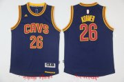 Wholesale Cheap Men's Cleveland Cavaliers #26 Kyle Korver Navy Blue adidas Revolution 30 Swingman Stitched NBA Jersey