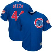 Wholesale Cheap Cubs #44 Anthony Rizzo Blue 2019 Spring Training Cool Base Stitched MLB Jersey