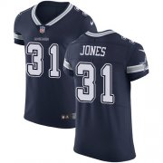 Wholesale Cheap Nike Cowboys #31 Byron Jones Navy Blue Team Color Men's Stitched NFL Vapor Untouchable Elite Jersey