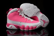 Wholesale Cheap Women's Air Jordan 9 Shoes Pink/white