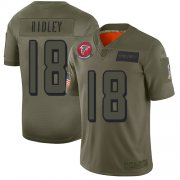 Wholesale Cheap Nike Falcons #18 Calvin Ridley Camo Youth Stitched NFL Limited 2019 Salute to Service Jersey