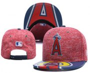 Wholesale Cheap MLB Los Angeles Angels of Anaheim Snapback Ajustable Cap Hat YD 1