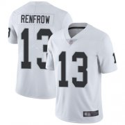 Wholesale Cheap Nike Raiders #13 Hunter Renfrow White Men's Stitched NFL Vapor Untouchable Limited Jersey