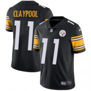 Wholesale Cheap Nike Steelers #11 Chase Claypool Black Team Color Men's Stitched NFL Vapor Untouchable Limited Jersey