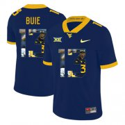 Wholesale Cheap West Virginia Mountaineers 13 Andrew Buie Navy Fashion College Football Jersey