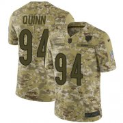 Wholesale Cheap Nike Bears #94 Robert Quinn Camo Youth Stitched NFL Limited 2018 Salute To Service Jersey