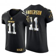 Wholesale Cheap Carolina Panthers #11 Robby Anderson Men's Nike Black Edition Vapor Untouchable Elite NFL Jersey