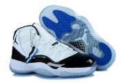 Wholesale Cheap Womens Air Jordan 11 (XI) Retro Shoes white/black-blue