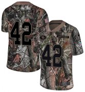 Wholesale Cheap Nike 49ers #42 Ronnie Lott Camo Men's Stitched NFL Limited Rush Realtree Jersey