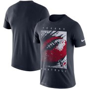 Wholesale Cheap Houston Texans Nike Fan Gear Mezzo Icon Performance T-Shirt Navy