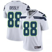 Wholesale Cheap Nike Seahawks #88 Will Dissly White Men's Stitched NFL Vapor Untouchable Limited Jersey