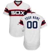 Wholesale Cheap Chicago White Sox Majestic Alternate Flex Base Authentic Collection Custom Jersey White