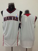 Wholesale Cheap Men's Atlanta Hawks Blank White Swingman Jersey