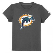 Wholesale Cheap Miami Dolphins Sideline Legend Authentic Logo Youth T-Shirt Dark Grey
