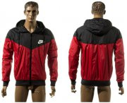Wholesale Cheap Nike Soccer Jackets Red/Black