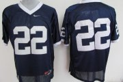 Wholesale Cheap Penn State Nittany Lions #22 Navy Blue Jersey