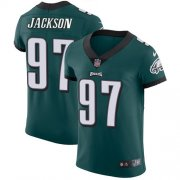 Wholesale Cheap Nike Eagles #97 Malik Jackson Midnight Green Team Color Men's Stitched NFL Vapor Untouchable Elite Jersey
