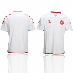 Wholesale Cheap Danmark Blank Away Soccer Country Jersey