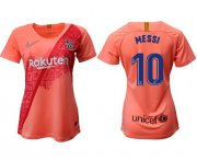 Wholesale Cheap Women's Barcelona #10 Messi Third Soccer Club Jersey