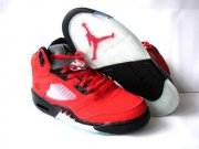 Wholesale Cheap Air Jordan 5 Retro Shoes Red/Black
