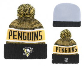 Wholesale Cheap NHL PITTSBURGH PENGUINS Beanies 1