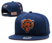 Wholesale Cheap Bears Team Logo Navy 2019 Draft Adjustable Hat YD