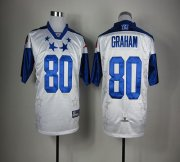 Wholesale Cheap Saints #80 Jimmy Graham White 2012 Pro Bowl Stitched NFL Jersey
