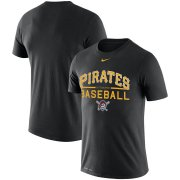 Wholesale Cheap Pittsburgh Pirates Nike Practice Performance T-Shirt Black