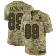 Wholesale Cheap Nike Cowboys #89 Blake Jarwin Camo Youth Stitched NFL Limited 2018 Salute To Service Jersey