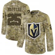 Wholesale Cheap Adidas Golden Knights #25 Stefan Matteau Camo Authentic Stitched NHL Jersey