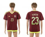 Wholesale Cheap Venezuela #23 Rondon Home Soccer Country Jersey