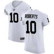 Wholesale Cheap Nike Raiders #10 Seth Roberts White Men's Stitched NFL Vapor Untouchable Elite Jersey