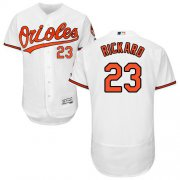 Wholesale Cheap Orioles #23 Joey Rickard White Flexbase Authentic Collection Stitched MLB Jersey