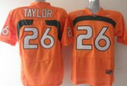 Wholesale Cheap Miami Hurricanes #26 Taylor Orange Jersey