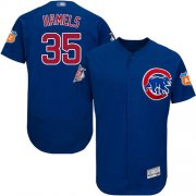 Wholesale Cheap Cubs #35 Cole Hamels Blue Flexbase Authentic Collection Stitched MLB Jersey