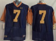 Wholesale Cheap Notre Dame Fighting Irish #7 William Fuller 2014 Blue With Yellow Jersey