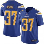 Wholesale Cheap Nike Chargers #37 Jahleel Addae Electric Blue Men's Stitched NFL Limited Rush Jersey