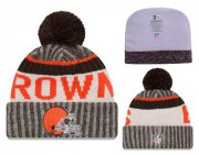 Wholesale Cheap NFL Cleverland Browns Logo Stitched Knit Beanies 001