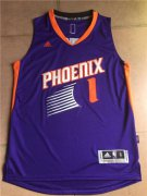 Wholesale Cheap Men's Phoenix Suns Booker adidas Purple Road Replica Jersey