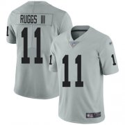 Wholesale Cheap Nike Raiders #11 Henry Ruggs III Silver Men's Stitched NFL Limited Inverted Legend Jersey