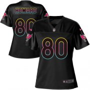 Wholesale Cheap Nike Buccaneers #80 O. J. Howard Black Women's NFL Fashion Game Jersey