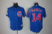 Wholesale Cheap Cubs #14 Ernie Banks Blue Cool Base Stitched MLB Jersey