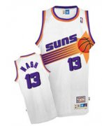 Wholesale Cheap Phoenix Suns #13 Steve Nash White Swingman Throwback Jersey