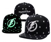Wholesale Cheap Tampa Bay Lightning Snapback Ajustable Cap Hat YD 1